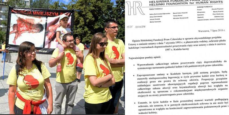 HFPC krytykuje projekt ustawy antyaborcyjnej