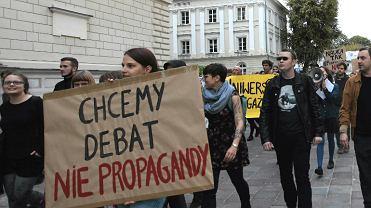 Protest przeciwko Ordo Iuris