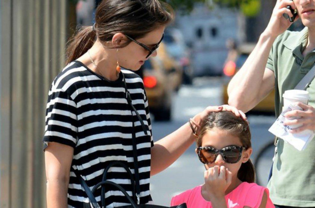 Katie Holmes z córką Suri