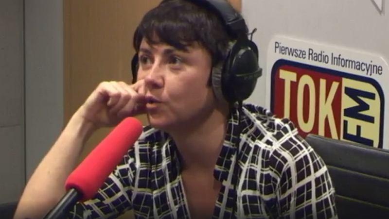 Maria Peszek w studiu TOK FM
