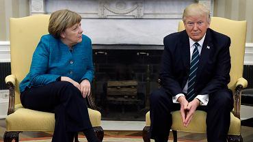 Wizyta Angeli Merkel w Waszyngtonie