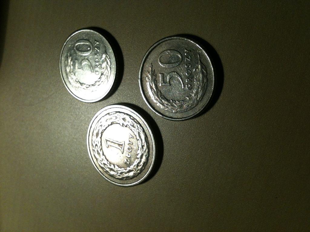 2 złote w monetach