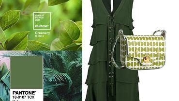 Greenery i Kale - odcienie zieleni chodzą parami