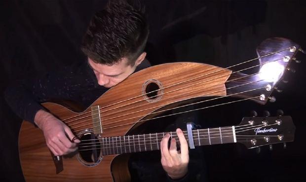 Game of Thrones (Main Theme) - Harp Guitar Cover - Jamie Dupuis