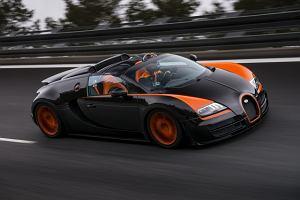 Bugatti najszybszym kabrioletem świata