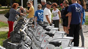 Lublin, prezentacja roweru miejskiego