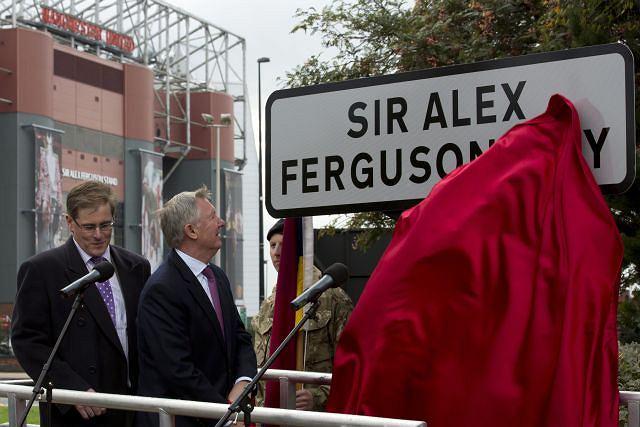 Ulica Sir Alexa Fergusona