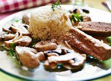 Filety z tuńczyka w sosie kawowo-pieczarkowym - ugotuj
