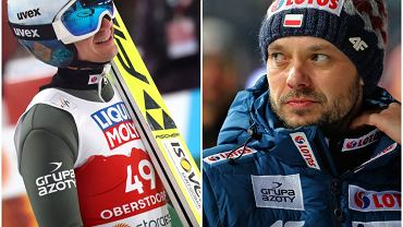 Kamil Stoch i Michal Doleżal