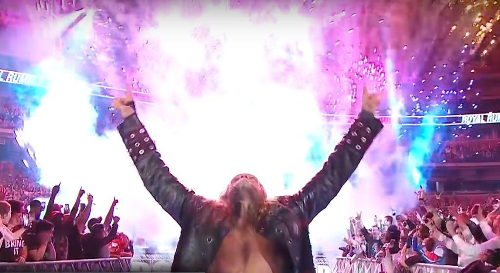 Edge returns to WWE