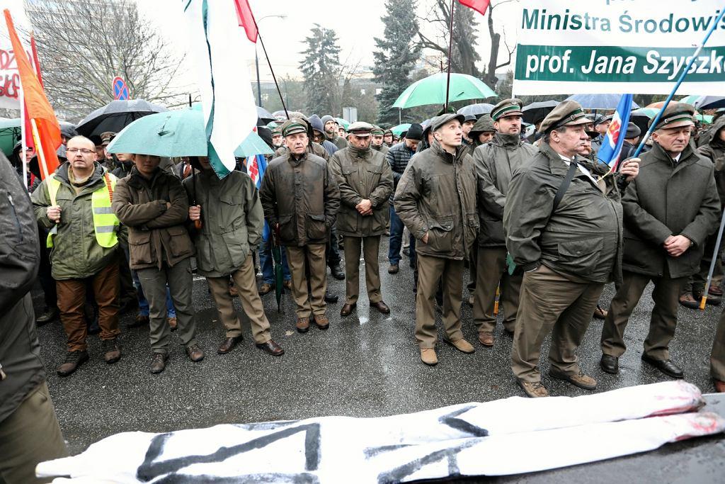 Manifestacja w obronie Jana Szyszki, Sejm RP 22.11.2017