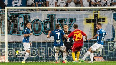 Lech Poznań - Korona Kielce 0:0. Dariusz Dudka, Karol Linetty, Jasmin Burić, Paweł Sobolewski, Tamas Kadar