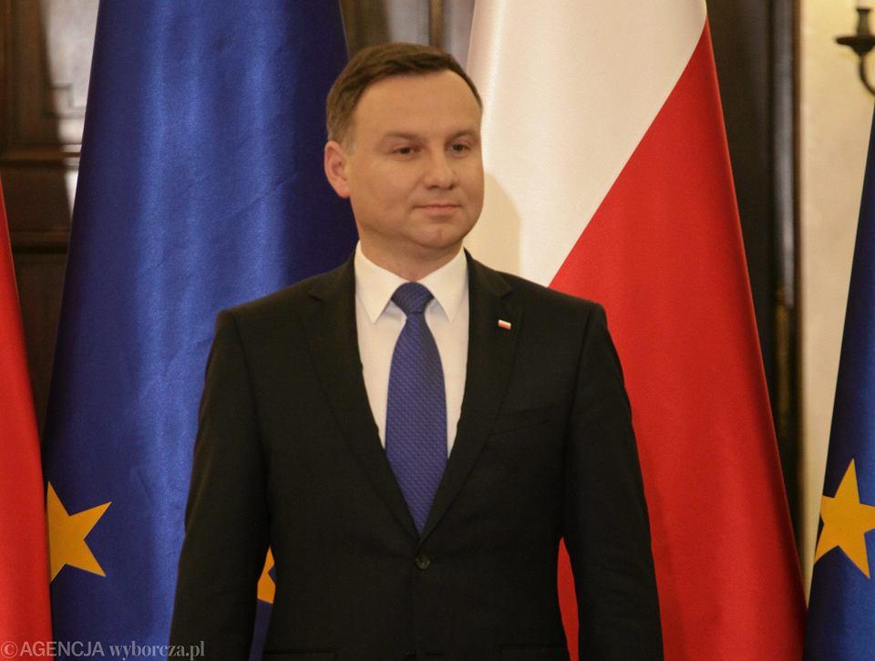 Prezydent Andrzej Duda podpisał