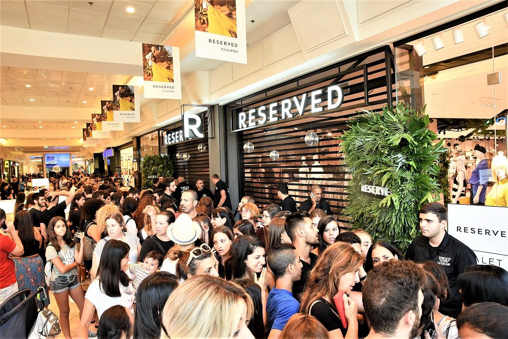 Otwarcie pierwszego salony Reserved w Izraelu