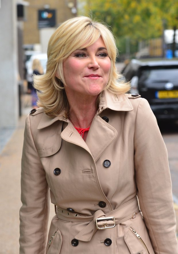 Anthea Turner w 2014 roku