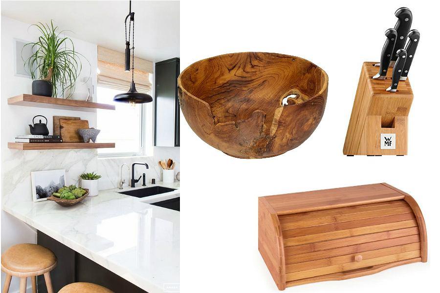 drewniane akcesoria do kuchni