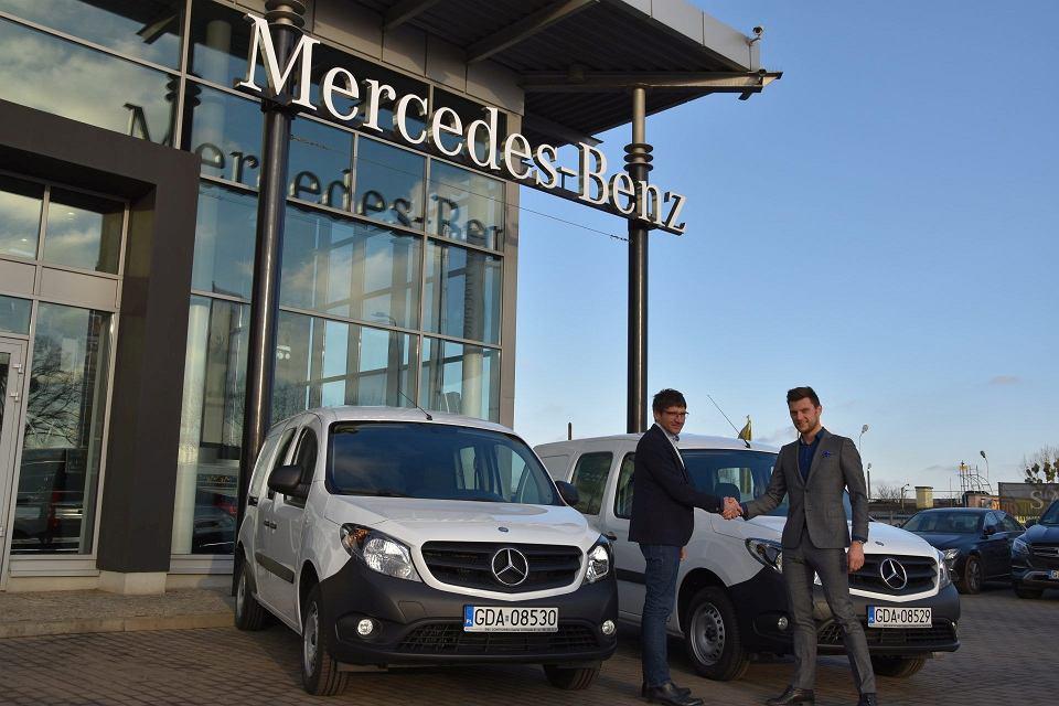 Przekazanie Mercedesów Citan