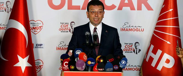 Turcja: kandydat opozycji wygrał wybory w Stambule