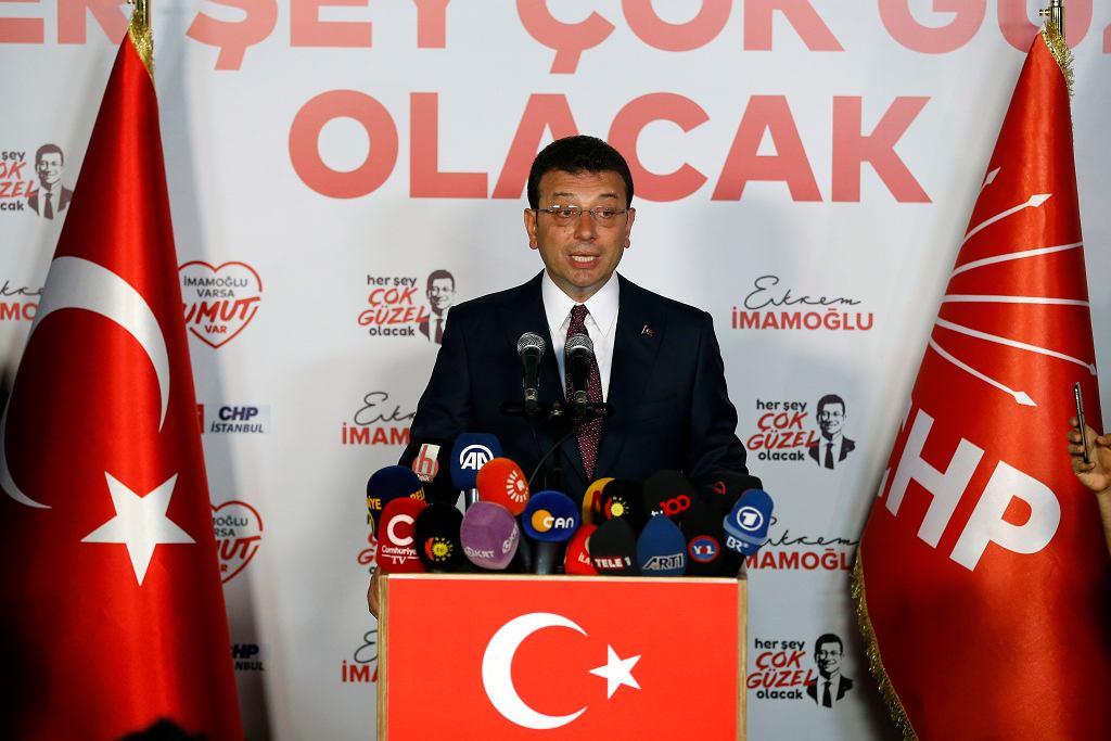 Wybory w Turcji. Ekrem Imamoglu