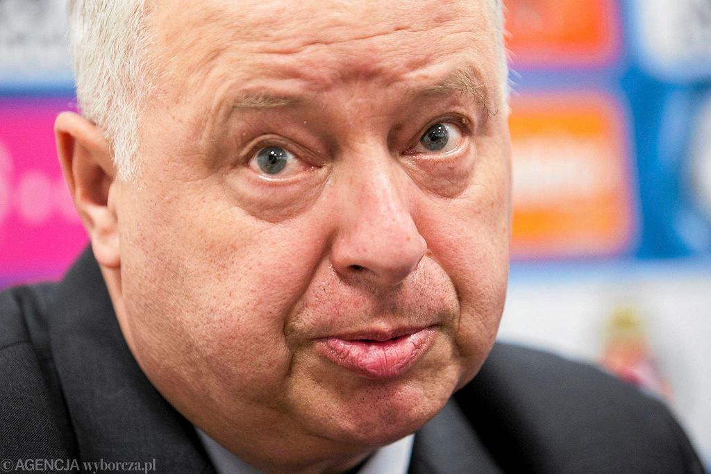 Prezes Wisły - Piotr Dunin Suligostowski