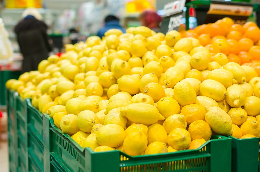 Warto kupować cytryny u sprawdzonego sprzedawcy.