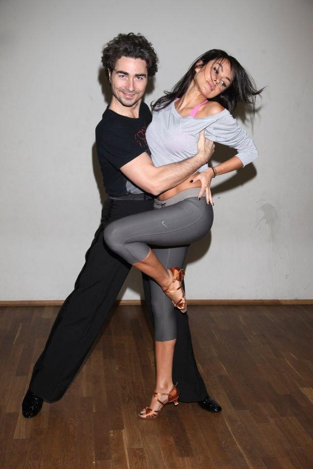 Natalia Siwiec i Jan Kliment treningi do Tanca z Gwiazdami, 02.2014, fot. WBF