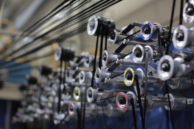 proces produkcji nici karbonowych