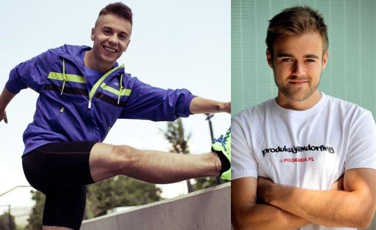 Mateusz Jasiński (z lewej) i Damian Bąbol