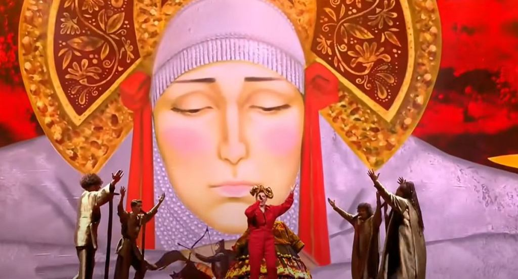 Manizha - Russian Woman - LIVE - Russia ???? - First Semi-Final - Eurovision 2021