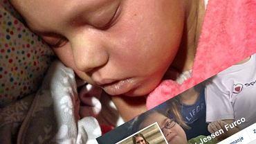 Rodzice żegnają się z córeczką umierającą na raka