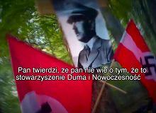 Operator TVN 'hajluje' na tle swastyki. Reaguje Brudziński, naczelny TVN24 odpowiada