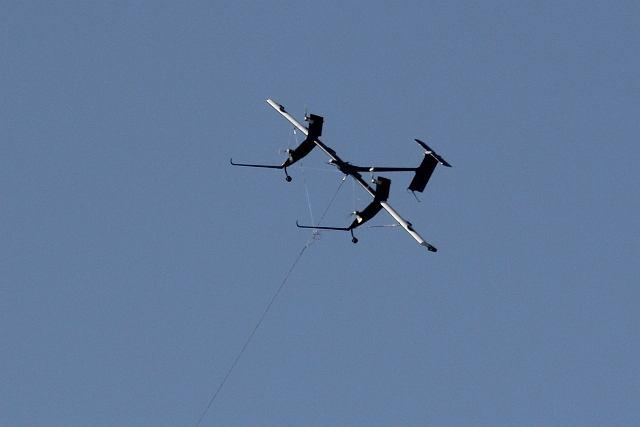 Wing-7 firmy Macani Power - latająca elektrownia
