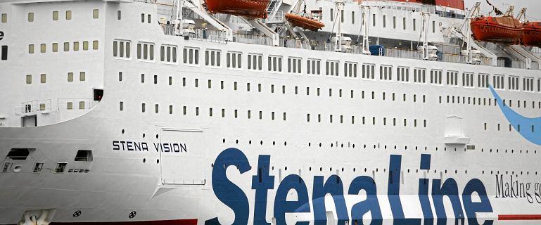 Problemy promu Stena Line w Szwecji. Na pokładzie znajdowało się 740 pasażerów