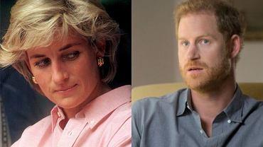 księżna Diana, książę Harry