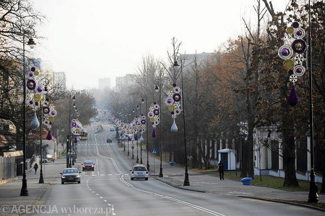 Belwederska w Warszawie.