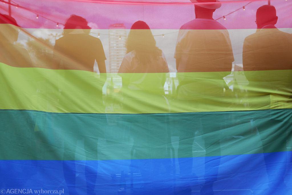 Demonstracja Solidarni z Białymstokiem po atakach na marsz równości