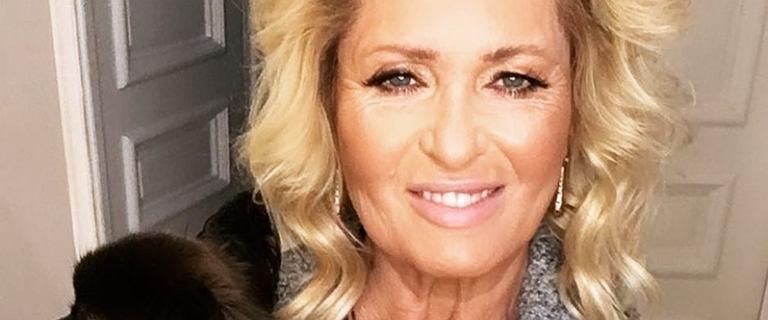 Ewa Kasprzyk pochwaliła się nową fryzurą. Aktorka postawiła na mocne cięcie