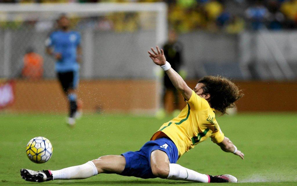 Brazylia - Urugwaj 2:2. David Luiz