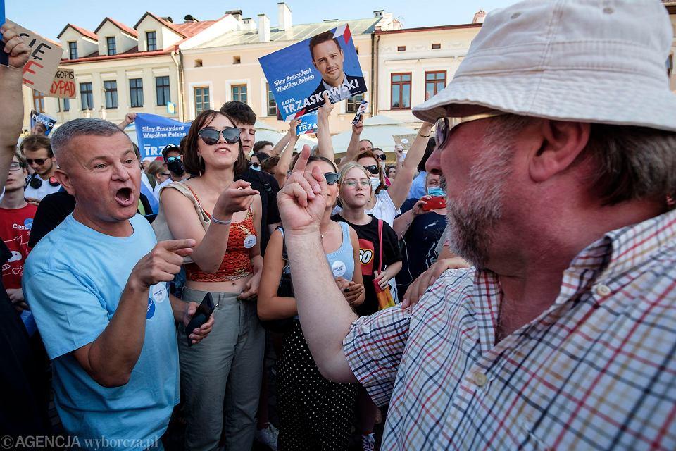 Wybory prezydenckie 2020. Andrzej Duda  w piątek, na finiszu kampanii odwiedził Rzeszów