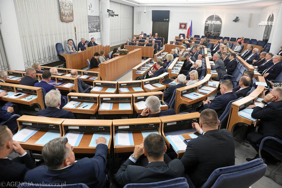 Wybory parlamentarne 2019. Senat
