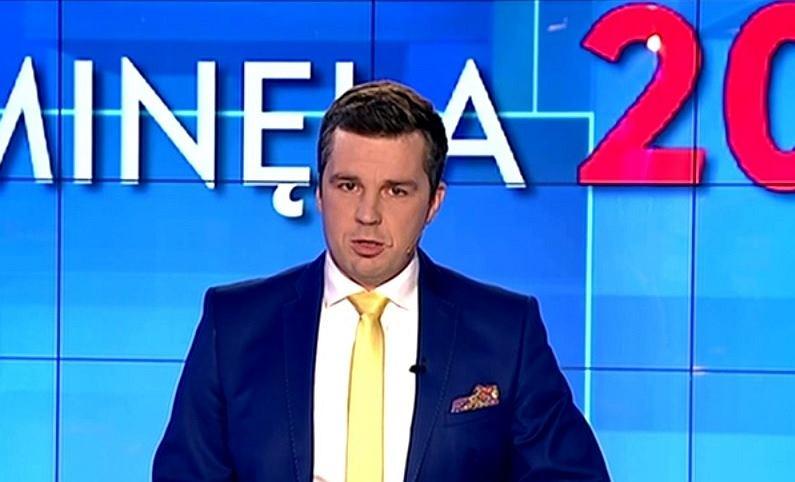 Michał Rachoń w programie 'Minęła 20'. Zdjęcie ilustracyjne