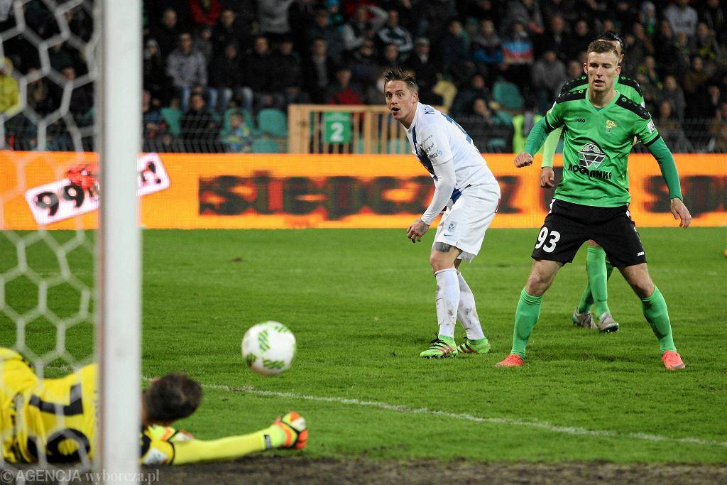 Górnik Łęczna - Lech Poznań 0:1. Nicki Bille Nielsen