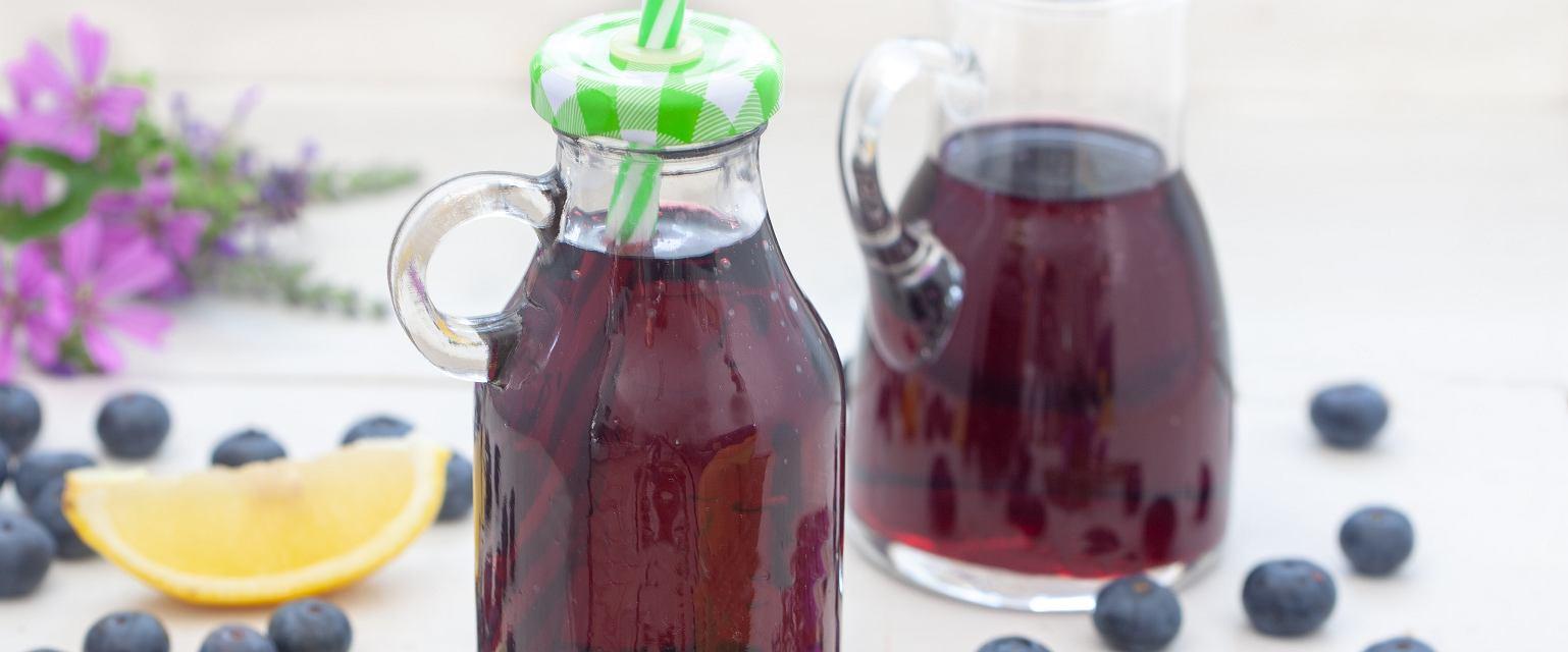 Sok z czarnych jagód
