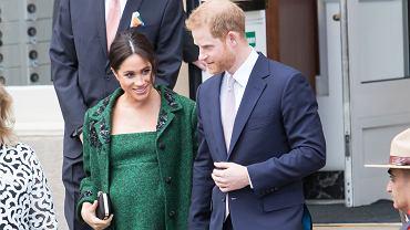 Meghan Markle i książę Harry odrzucili tytuł dla Archiego. Chłopiec miał zostać hrabią