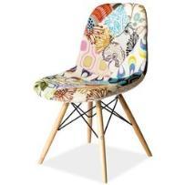Krzesło drewniane pascal a patchwork wyprodukowany przez Signal