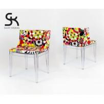 KR025 Designerskie kolorowe krzesło fotel, kup u jednego z partnerów