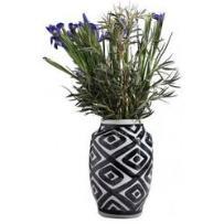 wazon black line vi duże karo - 37579c, marki Kare design