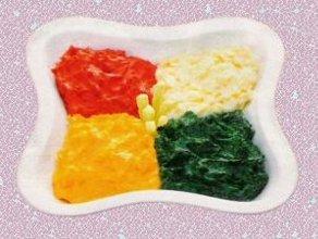 Kolorowe, ziemniaczane puree - gratka dla  niejadka - ugotuj