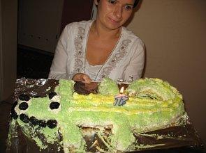 Ciasto Krokodylek - ugotuj