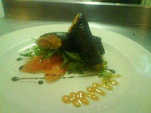 Nori z warzywami imbirowymi - ugotuj